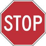 Stop Sign Wikimedia Commons