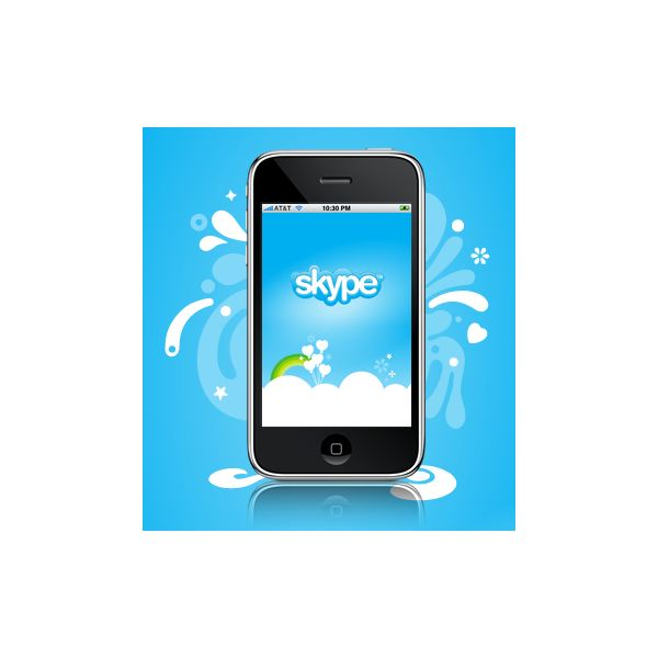 how to set up skype on iphone