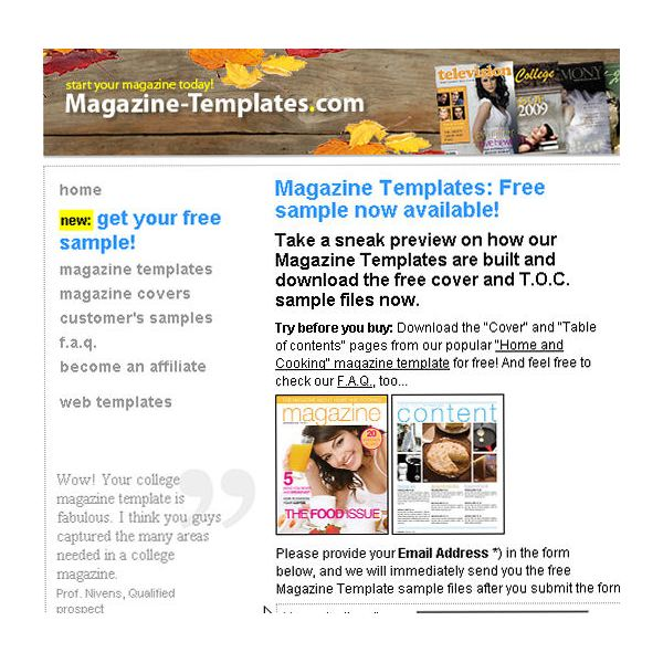 Use 10 Free Magazine Cover Templates to Save Time
