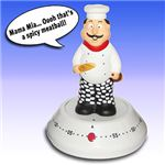 Novelty Kitchen Timers: Talking Chef