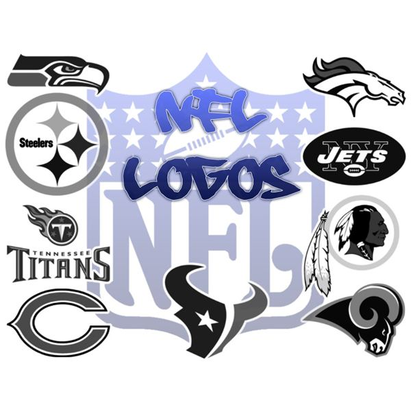 Nfl Football Team Logos Clip Art Nfl team logo brushes