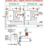 School Bell Timer, Circuit Schematic, Image