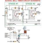 School Bell Timer, Circuit Schematic, Image