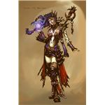 Blizzard Image Diablo III Wizard Female