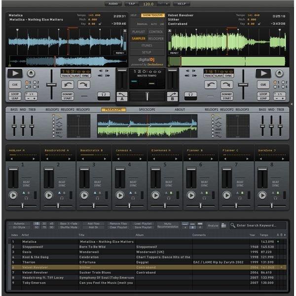 magix digital dj review the best dj mixing software. Black Bedroom Furniture Sets. Home Design Ideas