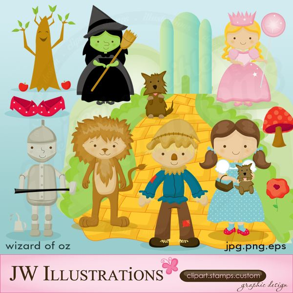 Clip Art Wizard Of Oz Clips wizard of oz clip art collections top 10 sites for great images jw illustrations jwillustrations