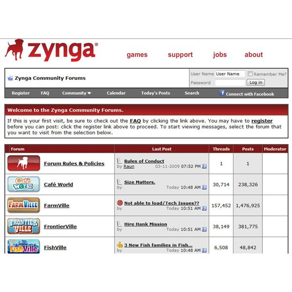 zynga player forums