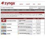 Zynga Forum Screenshot 1