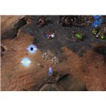 Starcraft 2 Zerg Multiplayer - Zerg Base under Attack