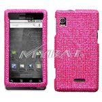 Hot Pink Diamante Protector Cover