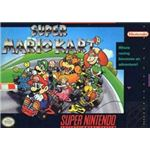 Super Mario Kart - Original Super Nintendo Box Art