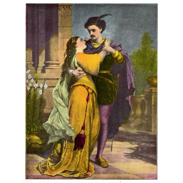 an analysis of love and infatuation in romeo and julliet Romeo and juliet begins with a chorus, which establishes the plot and tone of the play this device was hardly new to shakespeare, and in fact mirrors the structure of arthur brooke's the tragical history of romeus and juliet, from which shakespeare adapted romeo and juliet.