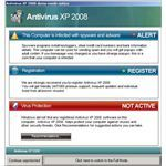 Fig 1 - Rogue Antivirus XP 2000