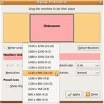 Ubuntu Display Resolution