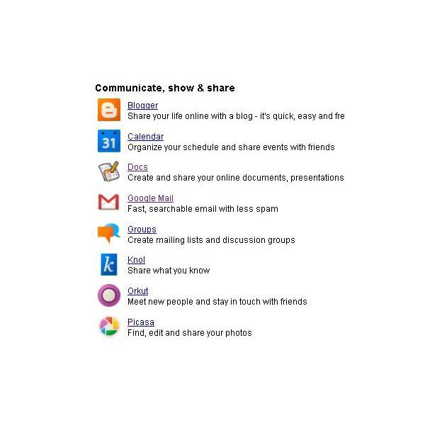 how to create picasa web album and share