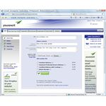 Figure 1 - YouSendIt.com Web Interface