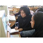 Female students of Afghanistan in 2005