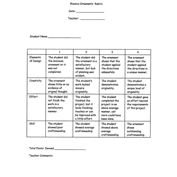 Sample Assignment Using Rigor with Rubrics
