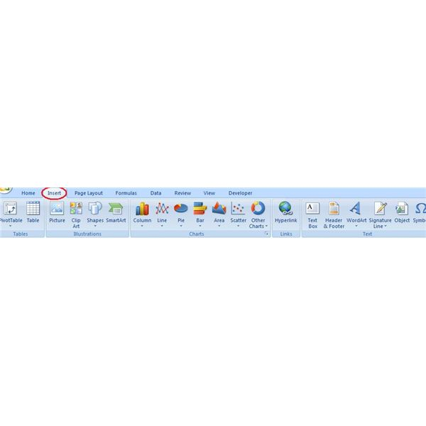 2007 Ribbon with icons