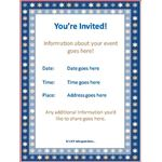 Jewish Event Invitation Template