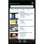 Guide to Using Windows Phone 7 Search Center App