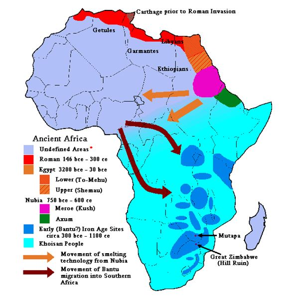 Early african kingdoms lesson plan reference and outline maps sciox Images