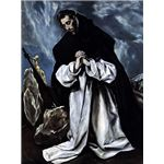 451px-El Greco, St Dominic in Prayer