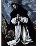 451px-El Greco, St Dominic in Prayer