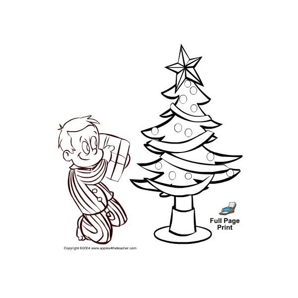 christmas coloring pages for teachers - photo#27