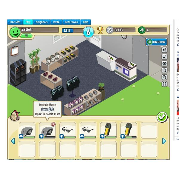 shopping street 2 game
