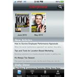 Entrepreneur Magazine iPhone App
