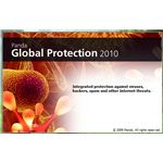 Splash Screen of Panda Global Protection 2010
