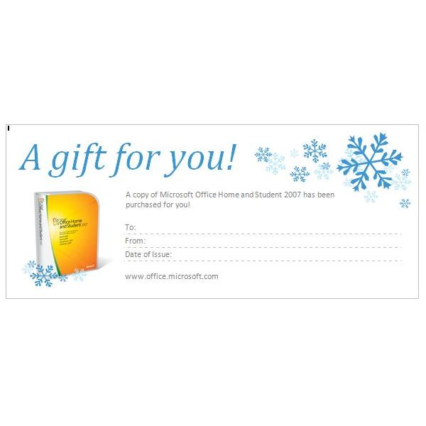 Tips For Creating Gift Certificates In Microsoft Word