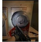 The washing machine area