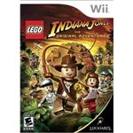 Wii Lego Indiana Jones cover