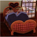 WooHoo in the Heart Shaped Bed