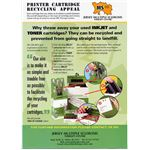 Flyer for British recycling program