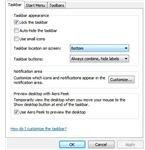 Windows 7 Taskbar Tweaks