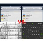 Swiftkey Original vs. Swiftkey X Beta