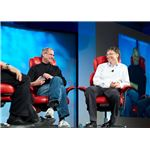 Steve Jobs and Bill Gates - Wikimedia - Joi Ito - CC
