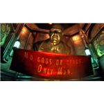Baseless scorn is the only expression in most of Bioshock