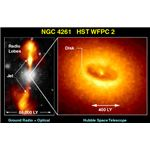 Black Hole at the core of NGC  4261