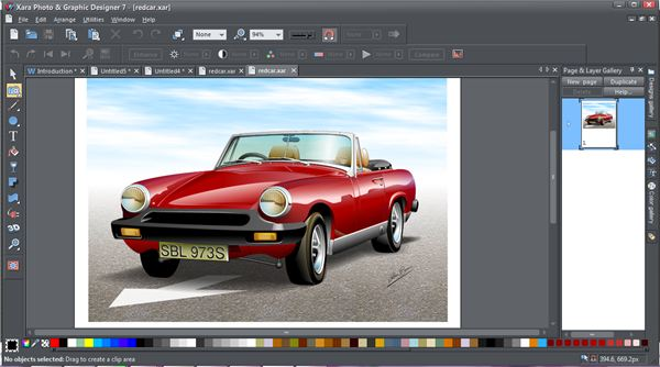 Review of xara graphic designer image gallery of software for Truck design software