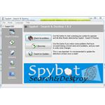 Spybot Search & Destroy in Default Mode