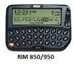 RIM 850/950