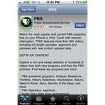 PBS iPhone App