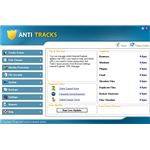 Main screen of Anti Track 7.0