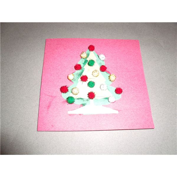 Two Ideas for Personalized Handmade Preschool Christmas Cards for ...