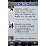 NHLPA Player Tracker iPhone App