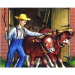 Farmer Boy Book Illustration